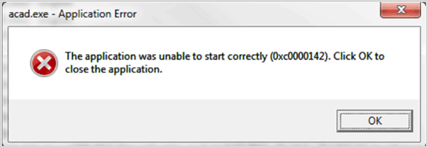 Fixed: The Application Was Unable to Start Correctly 0xc0000142