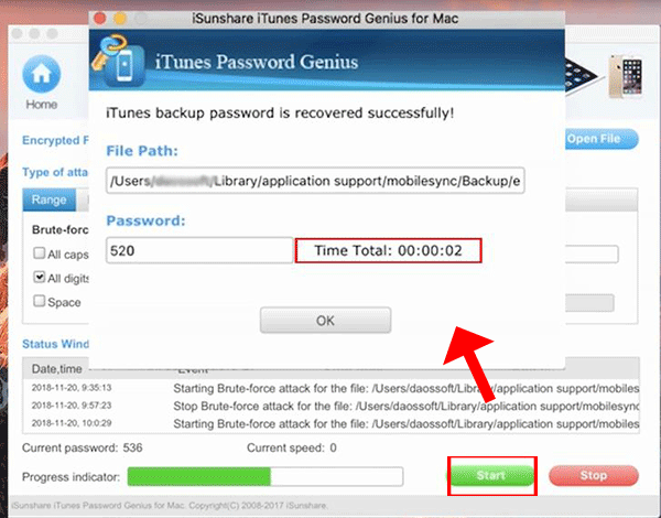 Top iTunes Backup Password Recovery Tool for Mac