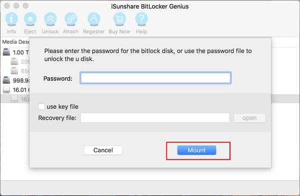 se bitlocker drive on mac