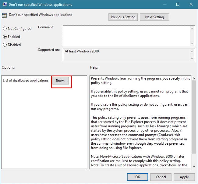 3 Ways to Fix This Program is Blocked by Group Policy Windows 10