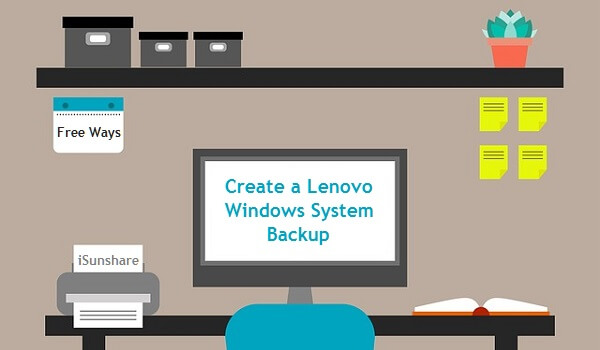create a Lenovo system backup