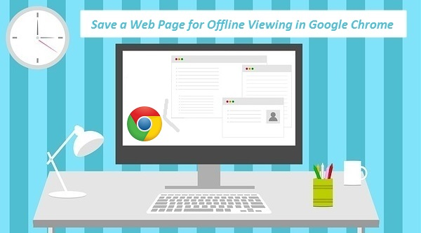 save web pages in Chrome