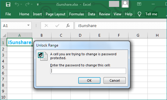 the unlock range prompt