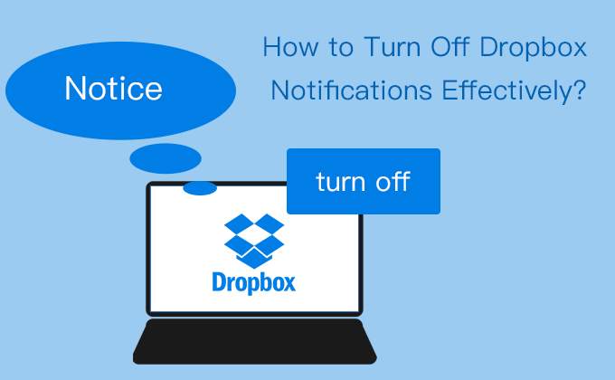 how to turn off dropbox notifications effectively
