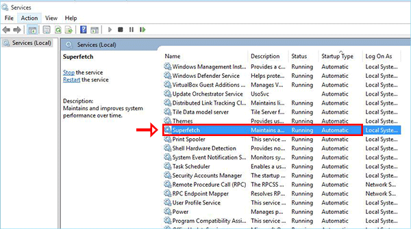 Làm Cách Nào Để Bật Và Tắt SuperFetch Trên Windows 10/8/7? - HUY AN PHÁT