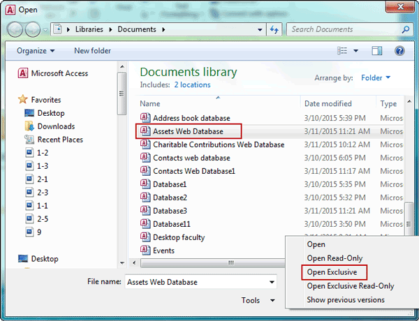 How to Encrypt and Decrypt Access Database MDB/ACCDB