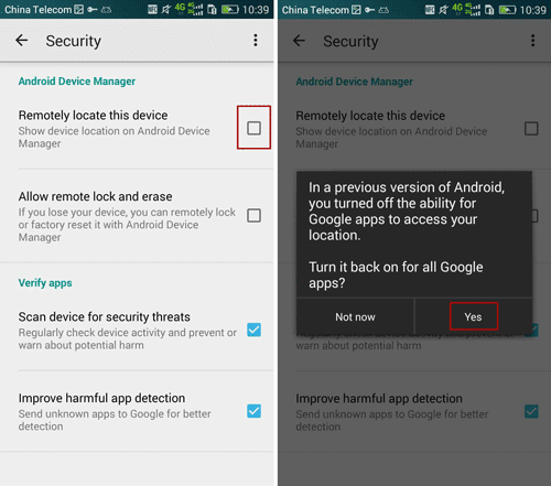 How to Activate Android Device Manager for Remotely Controlling