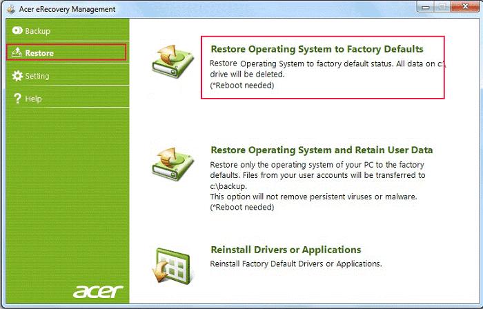 Acer Laptop Bios/Login Password Reset without Disk