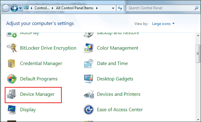 find device manager