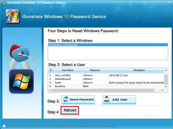 Lenovo ThinkPad/IdeaPad Password Reset Windows 10 without Reset Disk