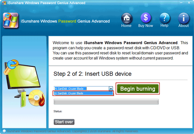 how to create a password reset disk for a locked computer