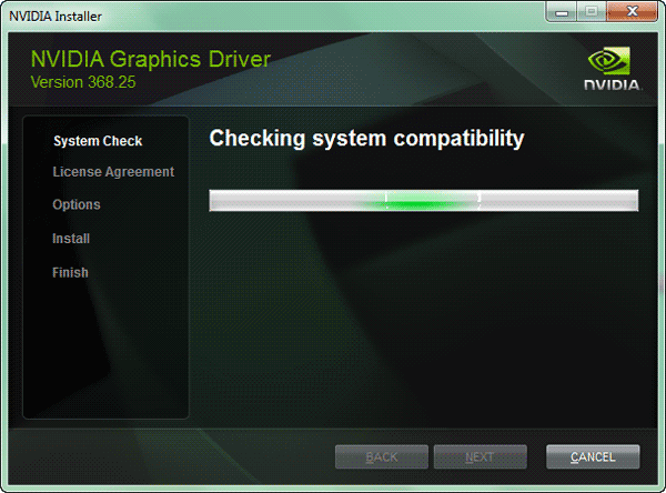 install and update to nvidia display driver latest version