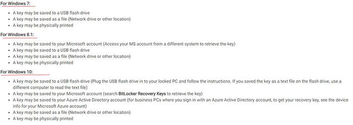 windows microsoft recovery key faq