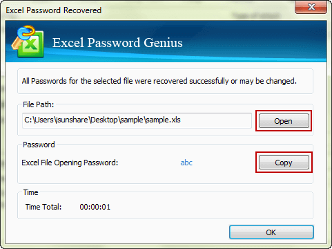 successfully recover excel workbook forgotten password to open