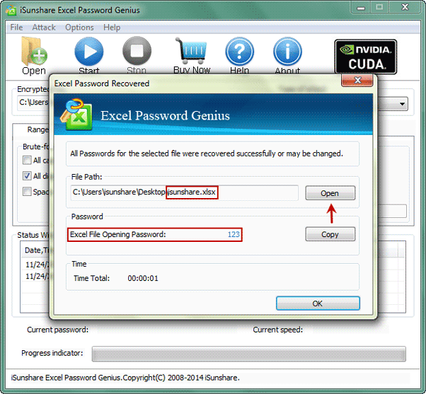 recover excel xlsx file forgotten password