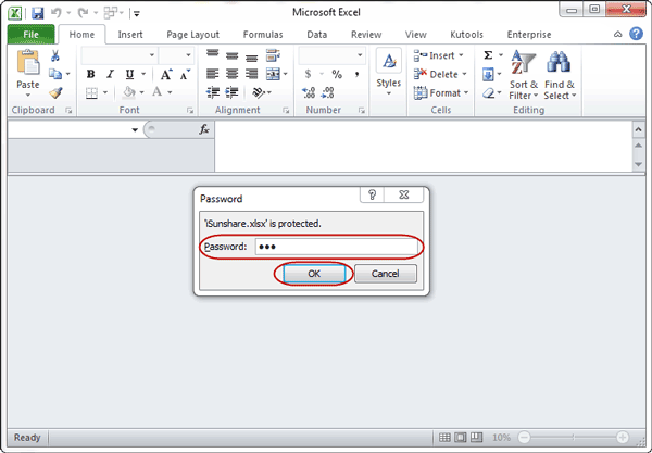 Top 3 Ways to Open Protected Excel File/Worksheet without
