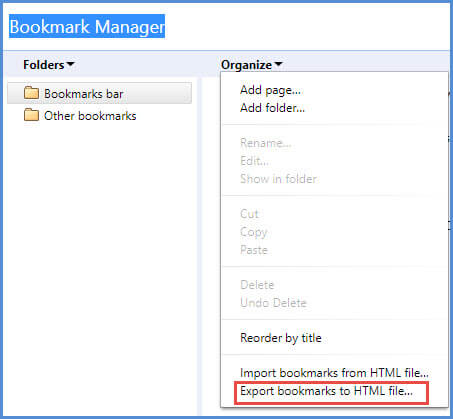 How to Import Chrome Bookmarks to IE, Firefox, Safari or Edge