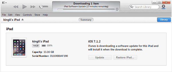 How to Upgrade iOS 7 to iOS 8 in iTunes to Update iOS Software