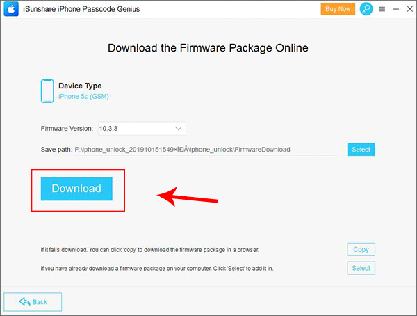 download firmware package online