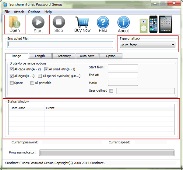 iPhone backup password recovery with password recovery tool