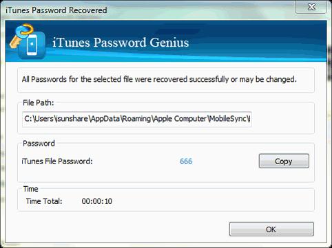 iphone password recover
