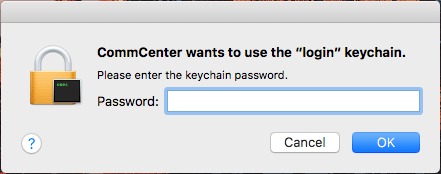 does resetting keychain delete passwords