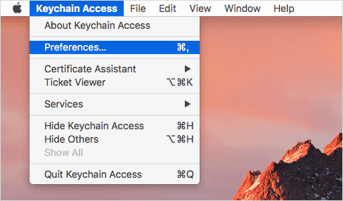 How to Reset Keychain Password after Mac Password Change e28299333