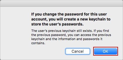 make sure to change this user password