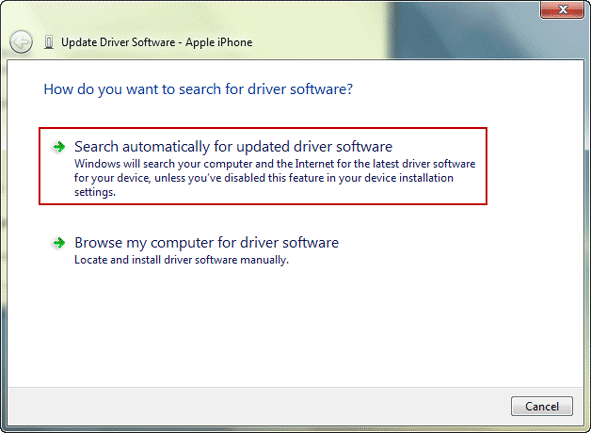 automatically update driver software by system
