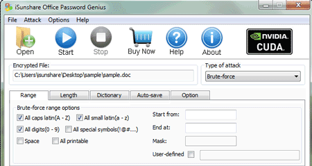 open locked office file with password genius