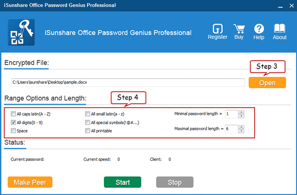 Elcomsoft advanced office password recovery.