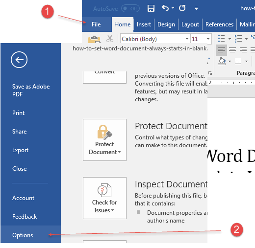 find autosaved documents word 2013