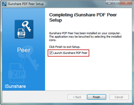 run client program isunshare pdf peer