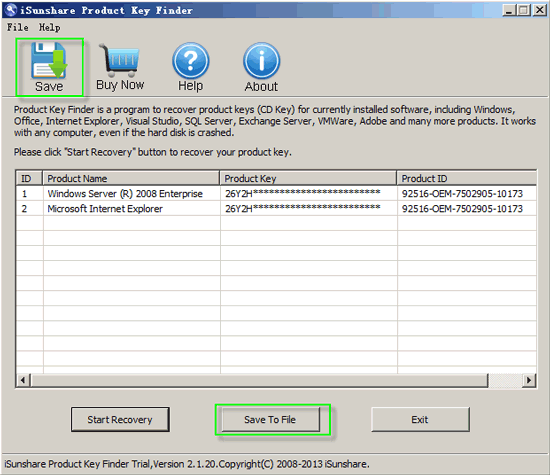 How to Recover Windows Server 2012 Product Key