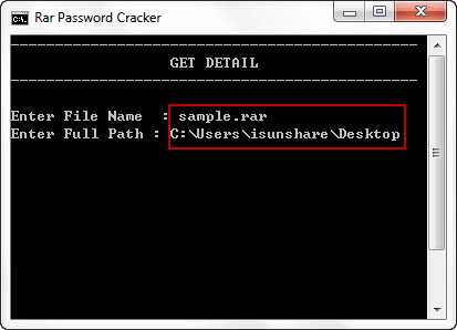 Free Way to Find Encrypted RAR File Password