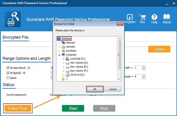 RAR Password Genius Professional User Guide