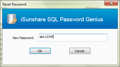 reset SA password with SQL password recovery tool