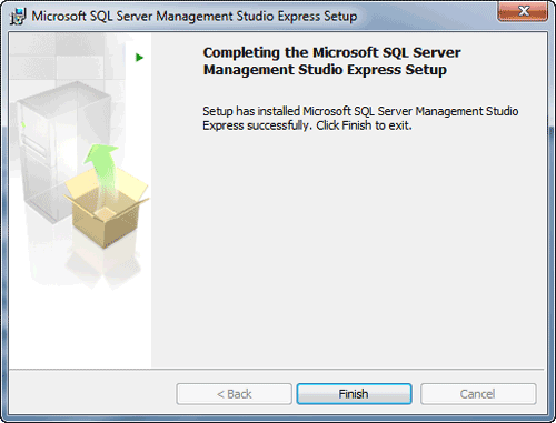 complete SQL Server Management Studio Express setup
