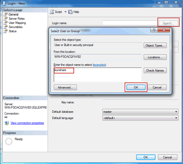 Why Cannot Login into SQL Server with Windows Authentication Mode