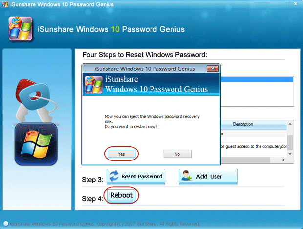 free password reset software for windows 10