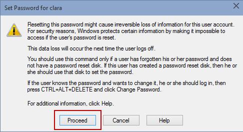 windows 10 user password reset command prompt