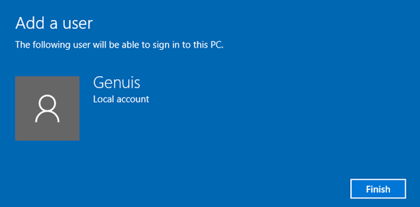allow new user to sign in windows 10 pc