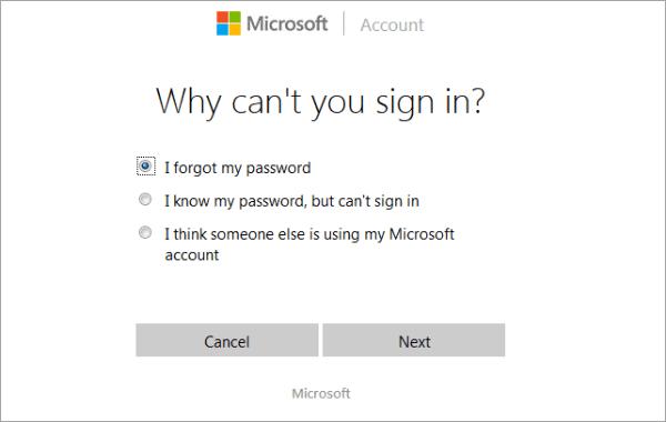 Reset Windows 10 Forgotten Password for Local/Microsoft Account