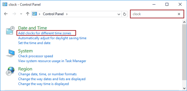 2 Ways to Add Clock on Taskbar in Windows 10