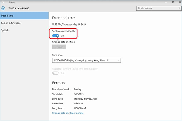 2 Ways to Change Date and Time on Windows 10