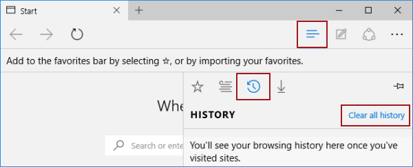 2 Ways to Clear Browsing Data in Microsoft Edge