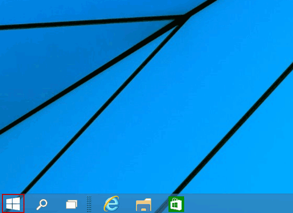 2 Ways to Open Start Menu in Windows 10