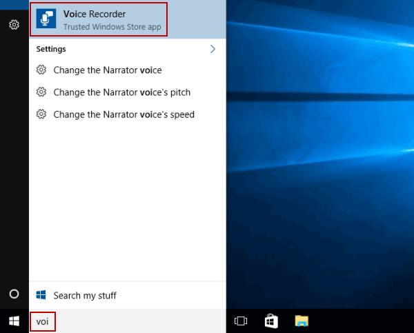 2 Ways to Open Voice Recorder in Windows 10