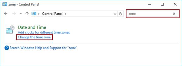2 Ways to Set Time Zone in Windows 10