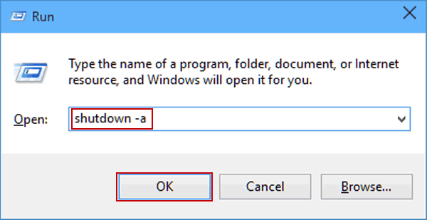 3 Ways to Cancel Auto Shutdown in Windows 10